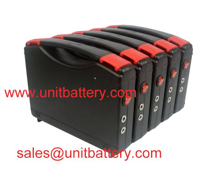 12V 30Ah lithium ion battery pack for 35W 55W 75W HID light hunting with special charger