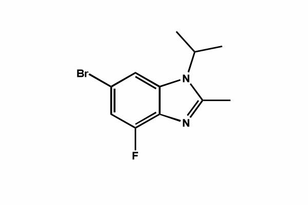 6-bromo-4-fluoro-2-methyl-1-(1-methylethyl)-1H-benzimidazole