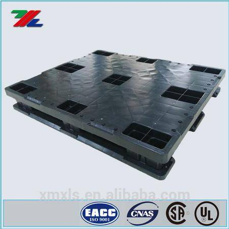 Stackable HDPE Pallet Block, 1,200 lb., 48 In. L, 40 In. W . 6 In .H with 7000lb Static Load Capacit