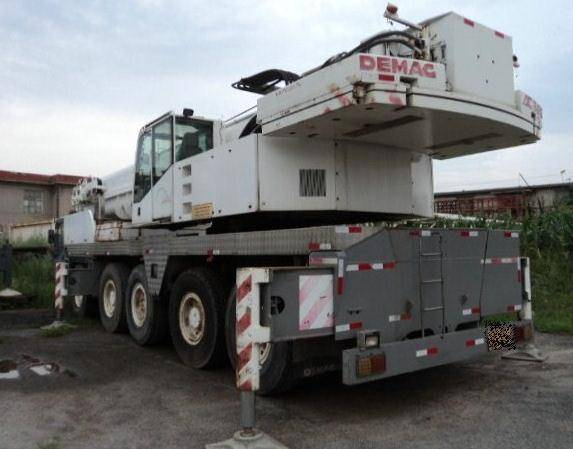 Used DEMAG 120t AC395 Truck Crane