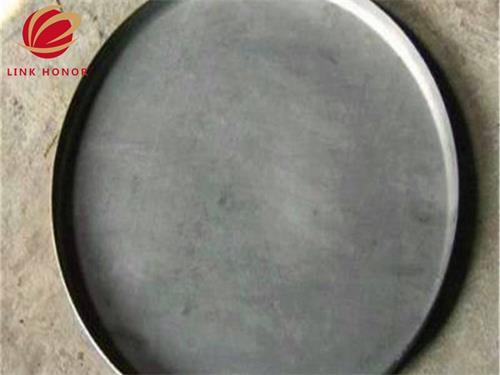 large carbon steel flat head with ASME standard for pressure vessel