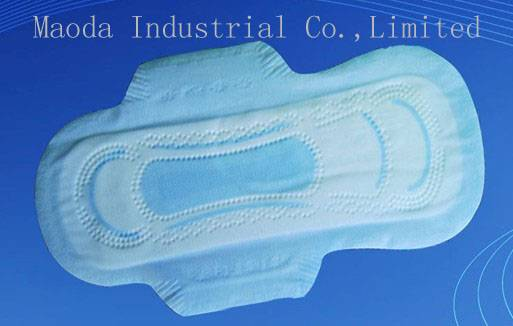 Sanitary napkin/pad