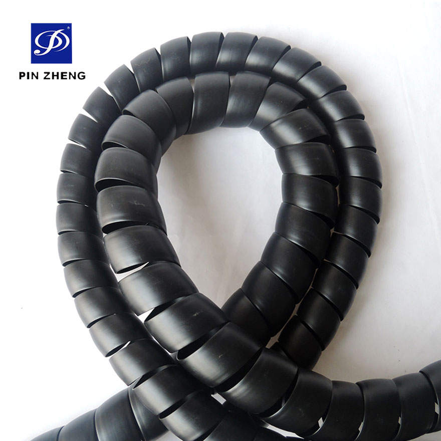 polypropylene plastic spiral hose protection for industry machinery