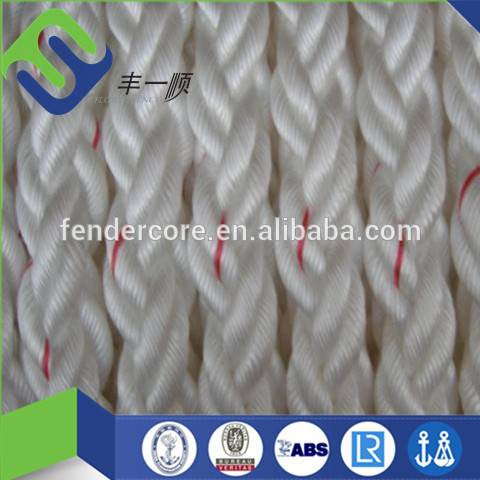 8 strand 52mm cheap nylon rope , marine polypropylene rope , nylon rope for ship