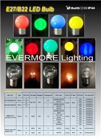 E27B22 LED bulb