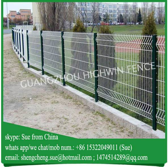 Portable pvc coated wire mesh Panels Garden Fence