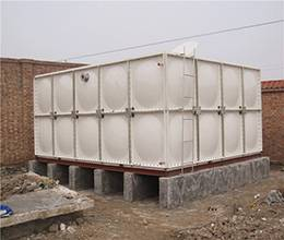 high-quality SMC GRP square water tank for drinking water storage