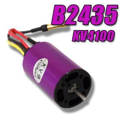 B2435KV4100 BRUSHLESS MOTOR OUTRUNNER