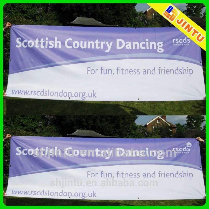 Digital Printing Fabric Hanging Fence Banner