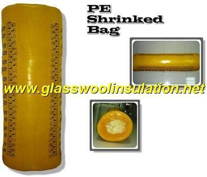 glass wool PE shringked bag