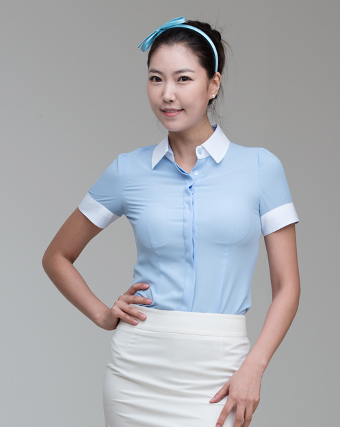 Comfortable Uniform for Women Half Sleeve Blouse Skirt