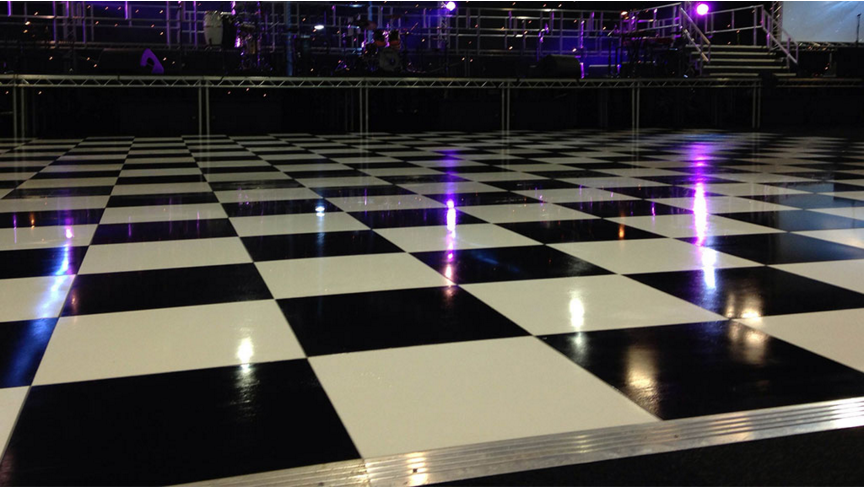 China supply cheap portable wooden dance floor for sale