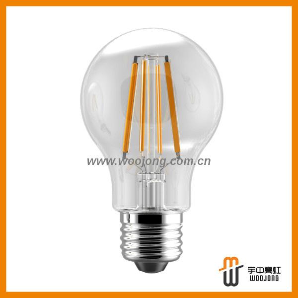 450lm energy saving A19 5w ul led filament bulb Philips and Osram