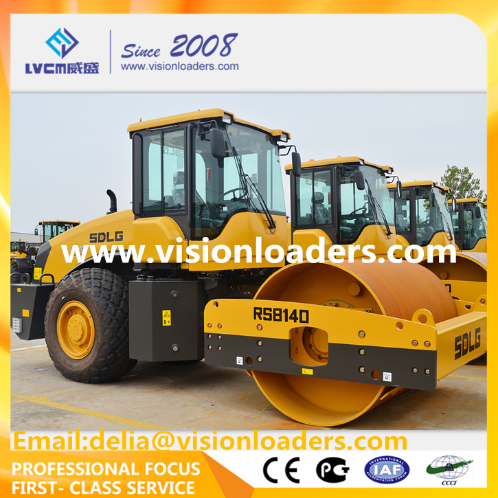 SDLG Vibratory Road Roller RS8140 China RS8140 Road Roller for sale