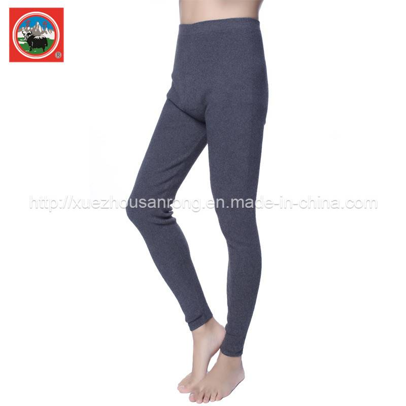 yak wool/cashmere knitted pants