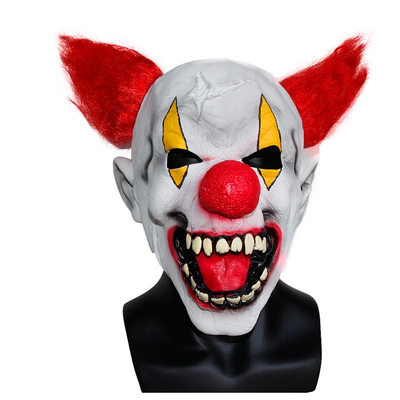 X-MERRY TOY Men's Halloween Costume Party Mask Horror Clown Mask New Pattern Fancy Dress Prop