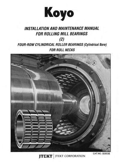 KOYO 313824A FOUR ROW cylindrical roller bearings