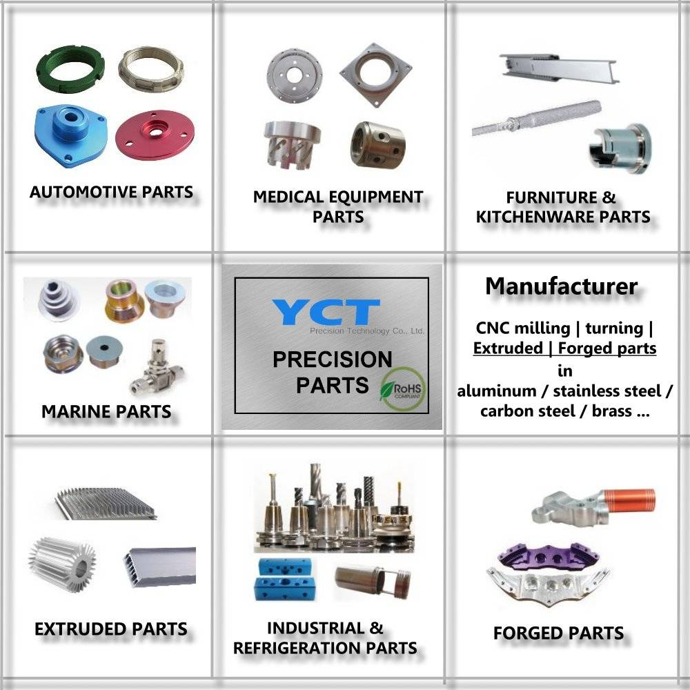 CNC Milling and CNC Turning parts