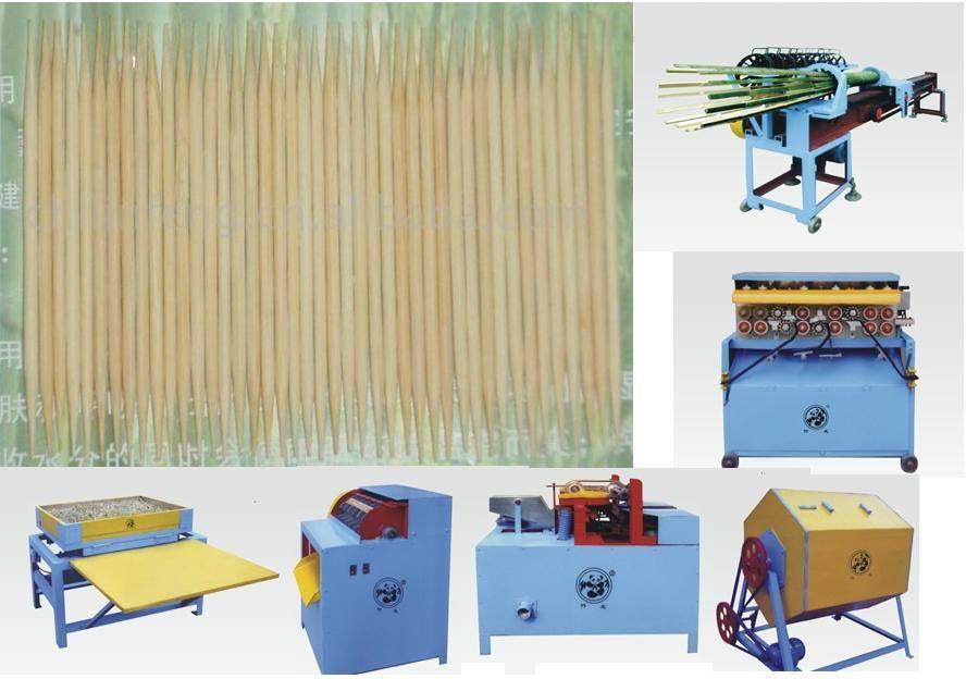 bamboo toothpick machine / bamboo toothpicks producing line / bamboo teeth pick machine