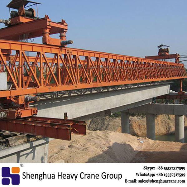 China HSHCL hot quality 300T bridge erection beam launcher equipment
