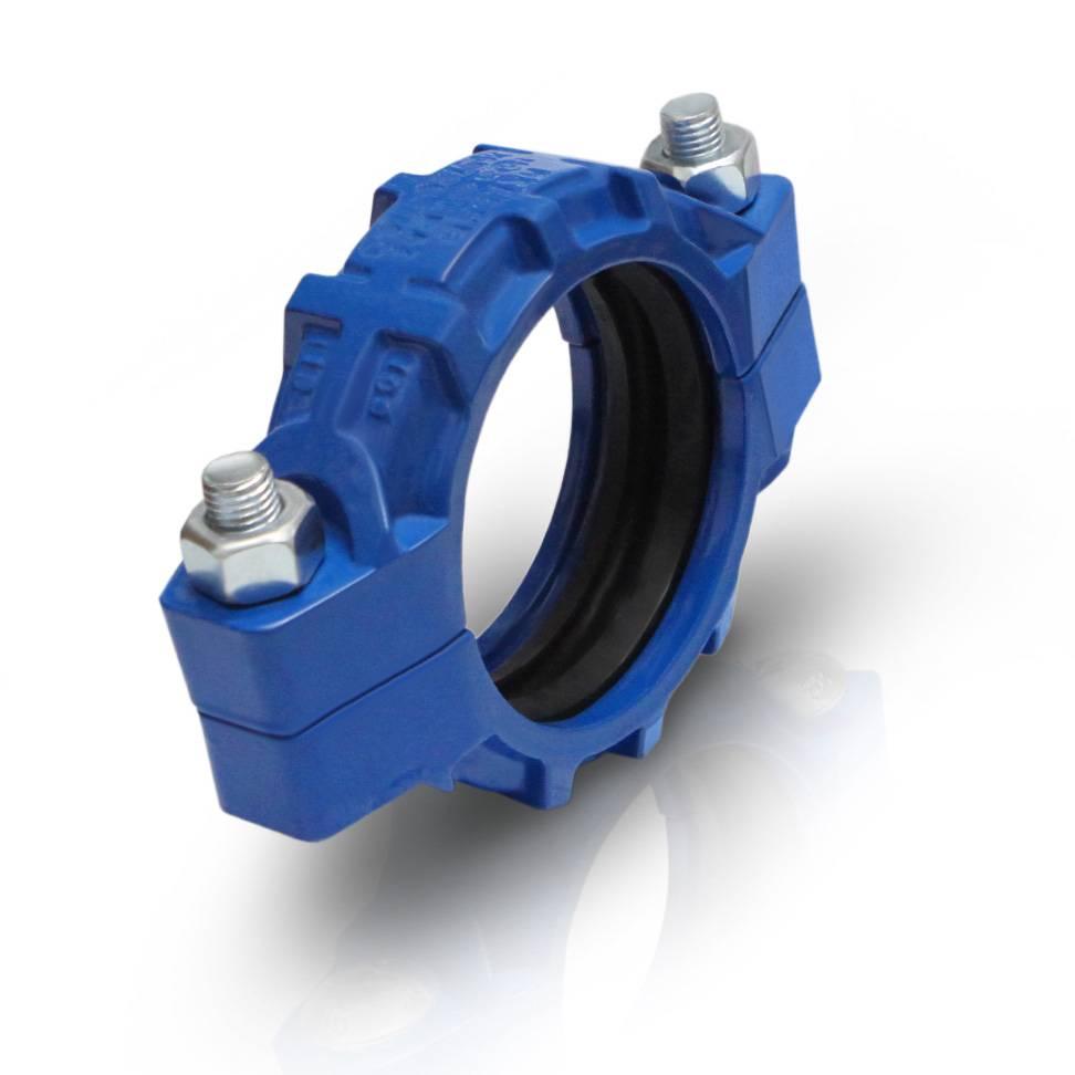 Model 97IH ductile iron medium pressure flexible coupling 1000psi