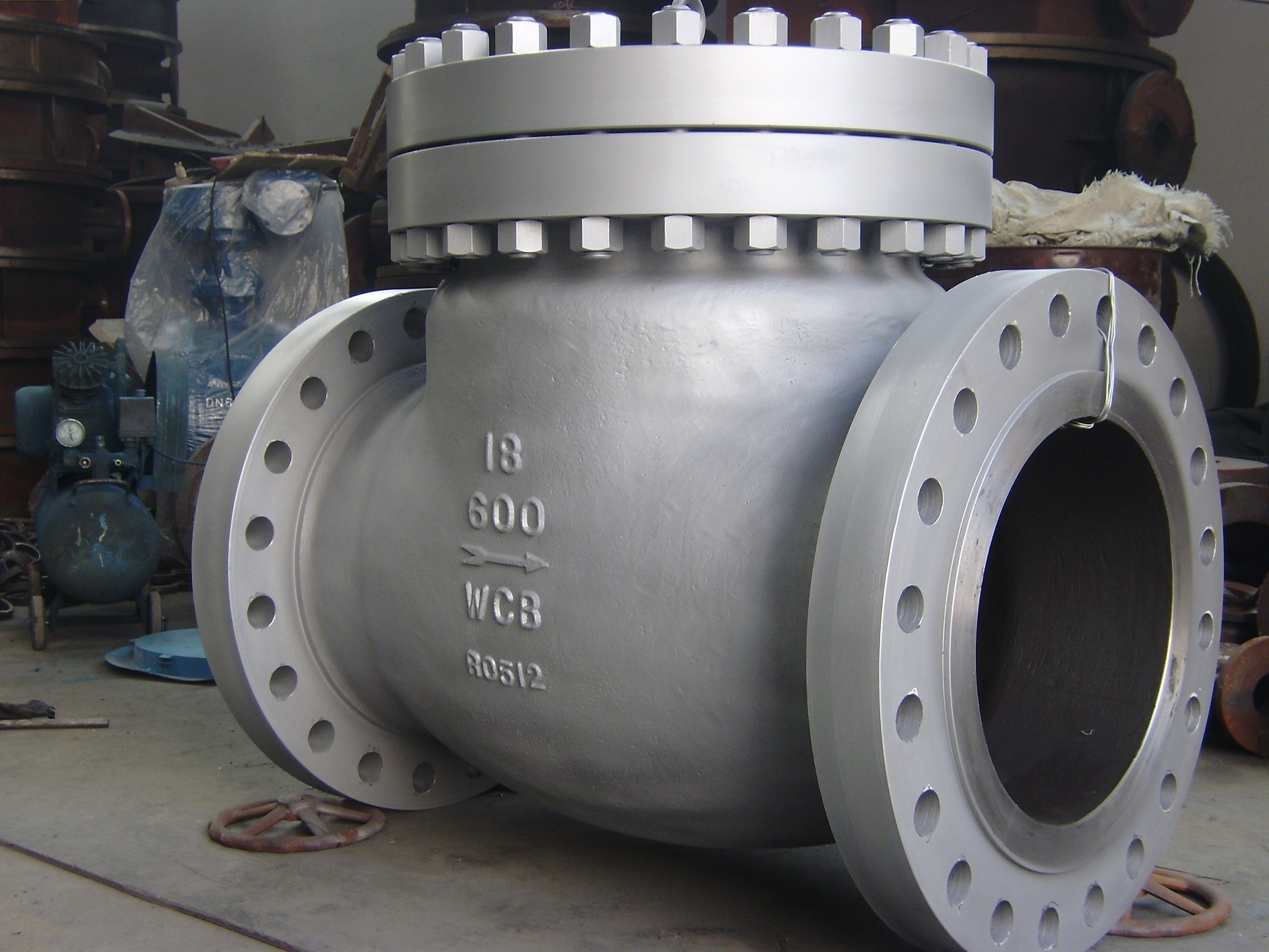 API6D Cast Steel A216 WCB Swing Type Check Valve
