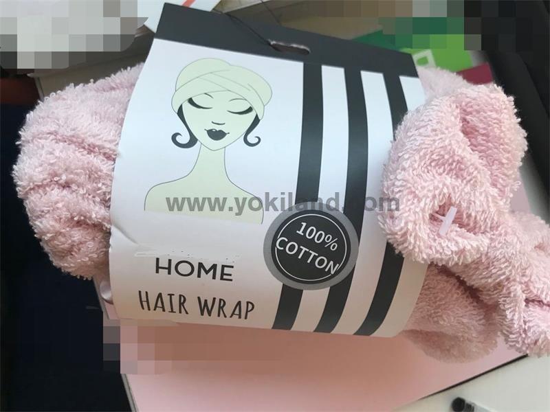 Hair Dry Hair Hat shower cap high quality turban shower cap YKT2067