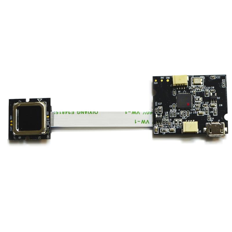 Hybrid Capacity / Optical FingerPrint Recognition Embedded Module (FPM-8111)