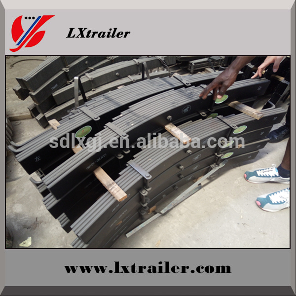 high quality leaf spring for semi trailer suspension