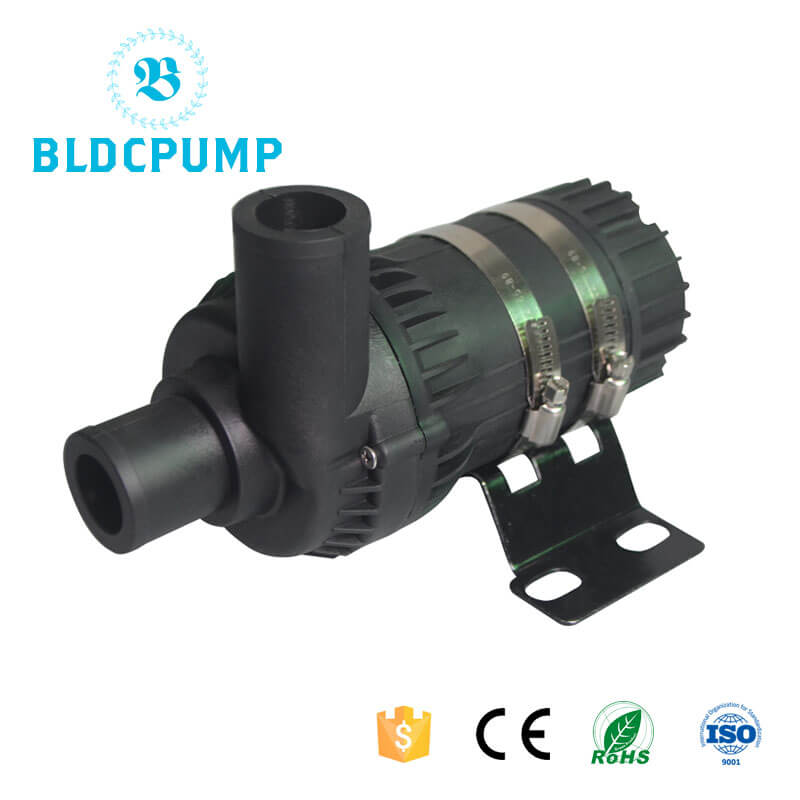 12V Car Water Pump for on board battery charger, DC-DC converter, electric vehicle battery cooling s