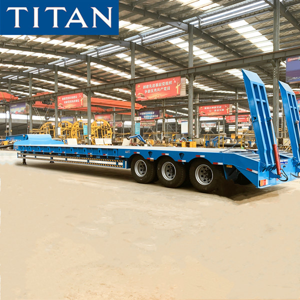 Tri axle low loader trailer for sale in Mozambique