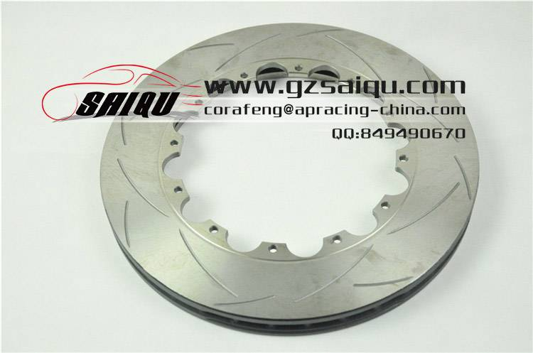 DICKASS Automobile Brake Disc 330*28 T2 Curved Grooves Surface