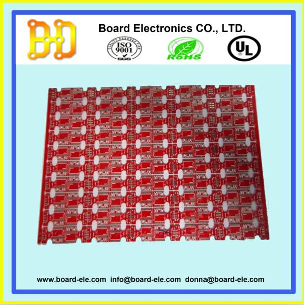 pcb fabrication for double layers pcb