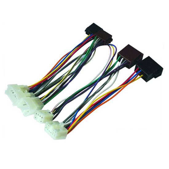 RoHS compliant car radio stereo wiring harness