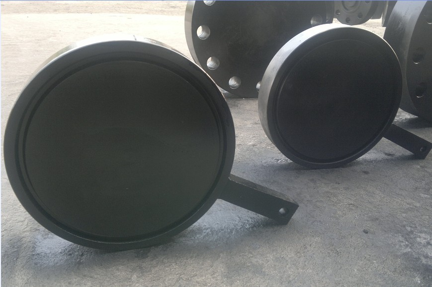 Forged Carbon Steel A105 RTJ Blind Spade Flange