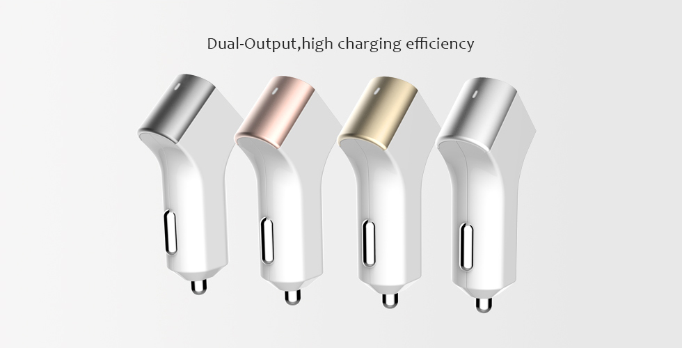 Dual USB Car Charger BW-C064