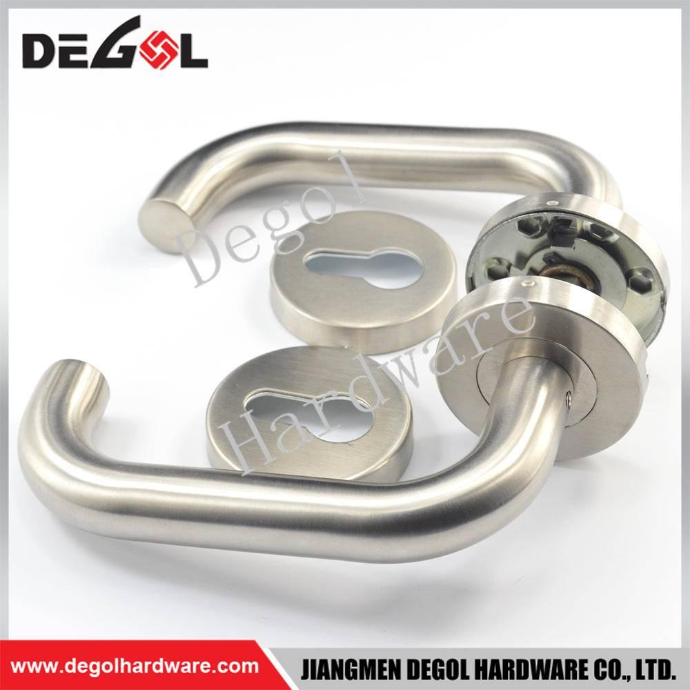 Custom stainless steel residential stainless steel commercial door handle plate