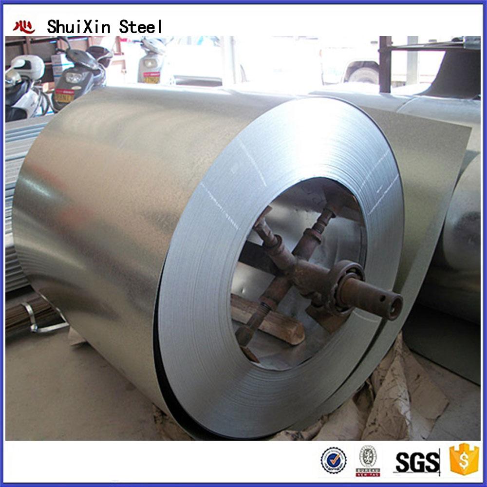 Tangshan SHUIXIN STEEL hot dipped galvanized steel sheet in coil