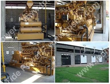 Tide Power Gas Generator Set with Jdec Gas Engine Set