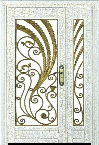 Low maintance wrought iron doors HL-J06