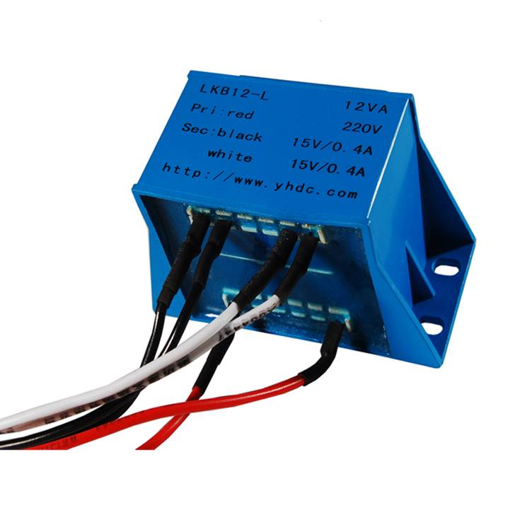 10VA/220V cable out sub-plate mount isolation transformer
