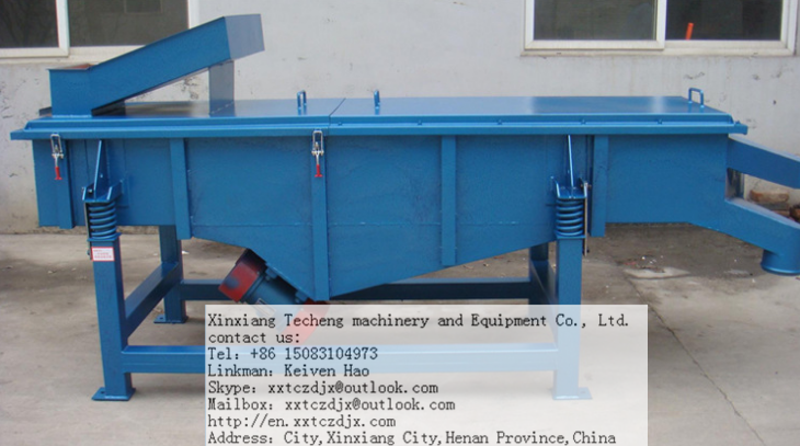 Lime stone Linear Vibrating Screen