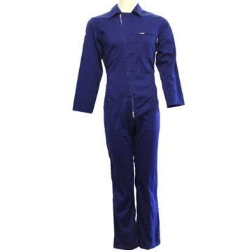 Woman Work Coveralls Elegant Front Zipper Closure, Industrial Coveralls