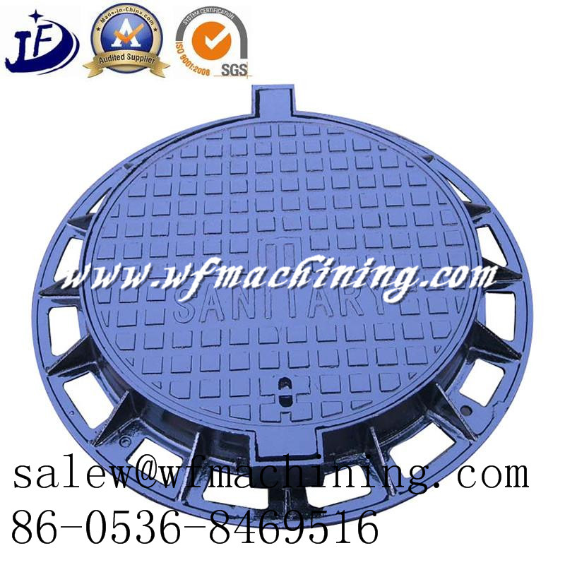 Round Cast Iron Water Drainage Manhole Covers/Septic Tank Covers
