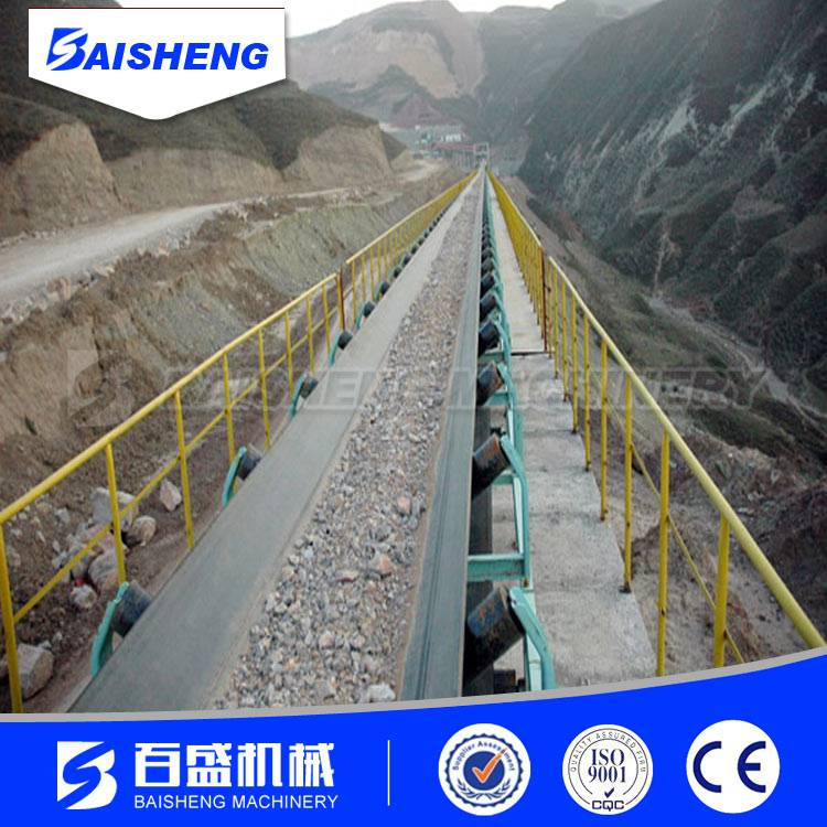 Baisheng Stone crushing plant belt conveyor for stone