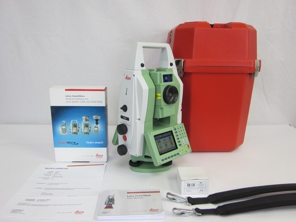Used Leica TS30 0.5 Motorized Total Station