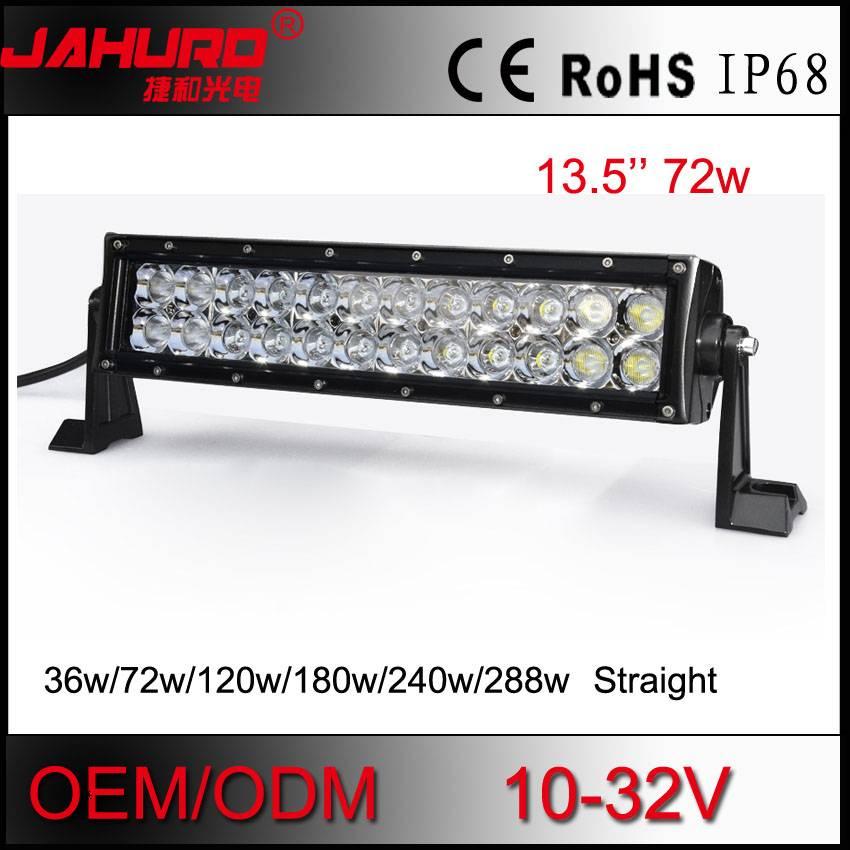 2015 high power 72W powered Led Work Light led for car auto Led Work Light