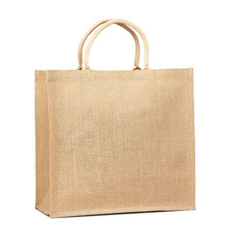 Jute Supermarket Shopper Bag