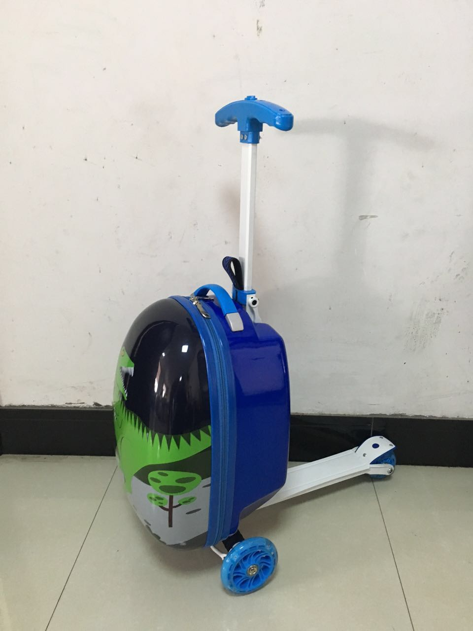 The latest design scooter trolley luggage for kids