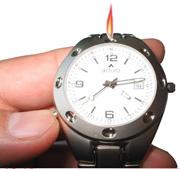 refillabel lighter watch